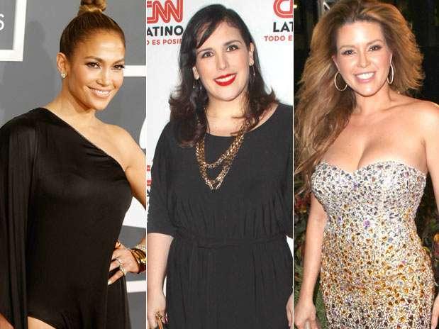 Jennifer Lopez, Angélica Vale o Alicia Machado podrían interpretar a Jenni Rivera en el cine Foto: Mezcal
