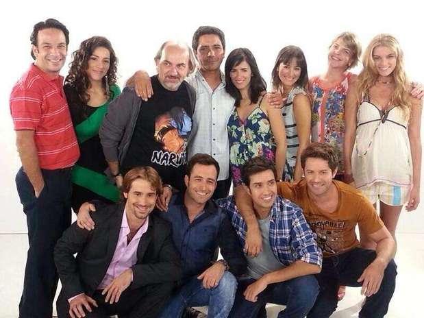 La producción de Canal 13 comenzó este 18 de marzo con sus grabaciones. Foto: Reproducción twitter.