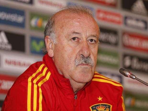 El seleccionador español de fútbol, Vicente del Bosque Foto: Benoit Tessier / Reuters