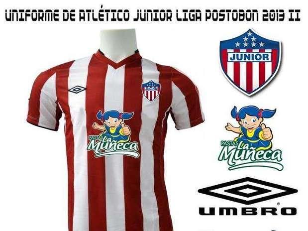 Esta sería la nueva camiseta de Junior de Barranquilla Foto: El Bordillo