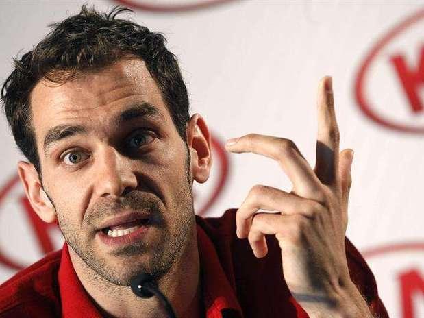 El jugador de baloncesto de los Detroit Pistons José Manuel Calderón Foto: EFE en español