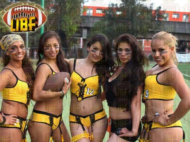 La Liga Iberoamericana de Bikini Football, hasta el momento cuenta con franquicias en el Distrito Federal, Monterrey, Jalisco, Puebla y Veracruz. Foto: Facebook: Liga Iberoamericana de Bikini Football