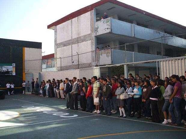 El Sindicato Único de Trabajadores Docentes del Colegio Nacional de Educación Profesional Técnica realizó una huelga en 27 planteles de esta institución educativa en el DF. Foto: http://portaldf.conalep.edu.mx/ / Terra México