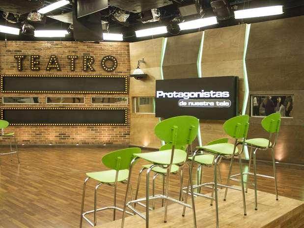 Este es uno de los espacios de la nueva Casa Estudio de 'Protagonistas de Nuestra Tele'. Foto: David Felipe Rincón/Terra