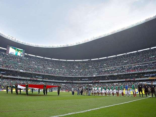 Los directivos de la FMF esperan un lleno en el estadio Azteca en el México vs. Honduras. Foto: Agustín Cuevas / Imago7