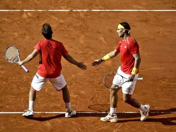 Nadal y López Foto: EFE en español