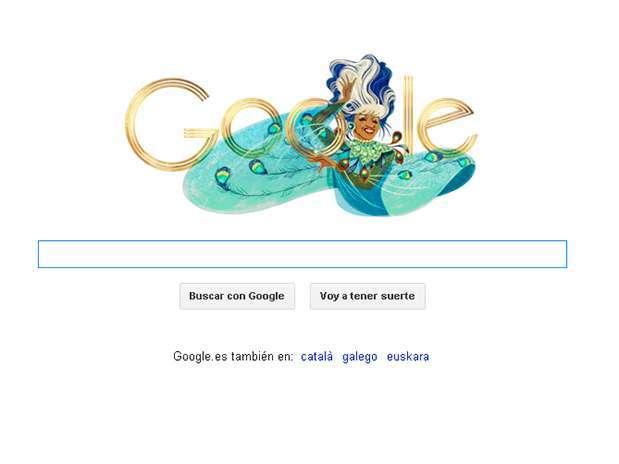 Doodle sobre Celia Cruz Foto: Google