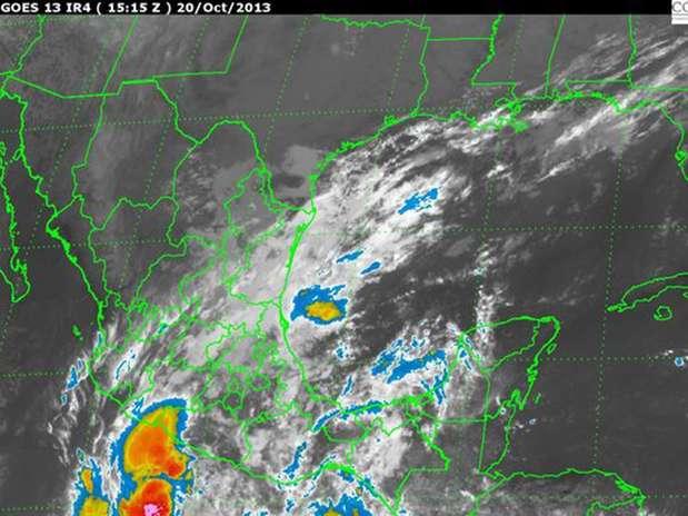 'Sonia' es el ciclón número 18 de esta temporada en el Océano Pacífico, generará potencial de lluvia torrencial en Sinaloa; intensa en Chihuahua y Durango; precipitaciones muy fuertes en Sonora, Baja California Sur y Nayarit; así como precipitaciones fuertes en Colima, Michoacán y Jalisco. Foto: Notimex