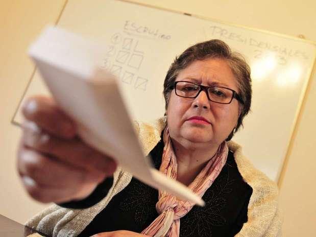 Sonia Bello Navarrete, fue vocal de mesa en las elecciones desde 1988 hasta 2009. Foto: Matías Delacroix / Terra