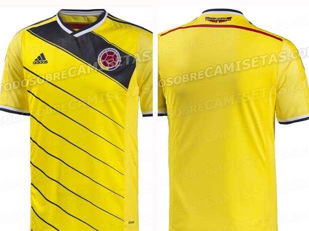 La nueva camiseta de la selección.  Foto: Reproducción.