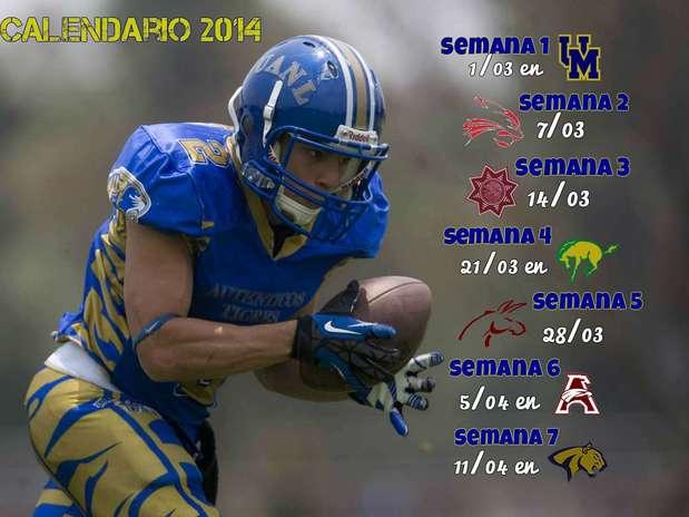 Calendario Auténticos Tigres UANL 2014 Foto: Mario Castillo/Derechos reservados / TERRA