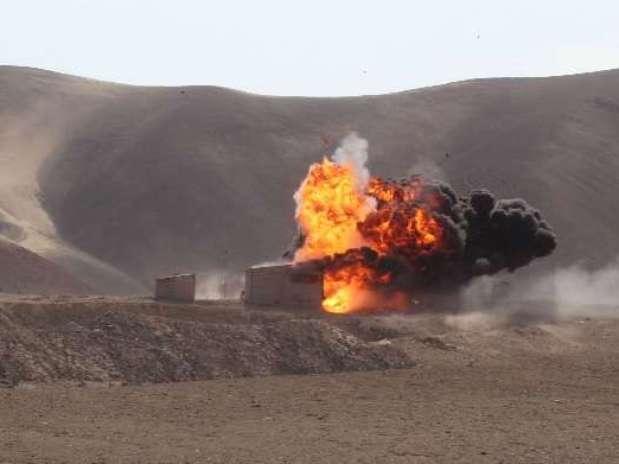 Siete plantas mineras ilegales fueron destruidas en Arequipa Foto: Difusión
