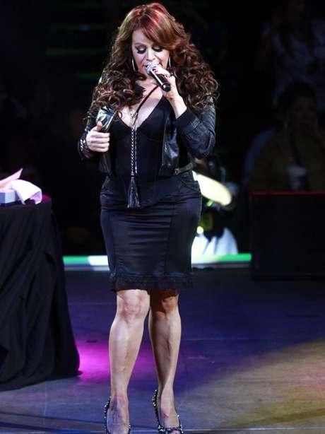 La cantante Jenni Rivera viajaba de Monterrey a Toluca cuando su aeronave se extravió. Foto: Reforma