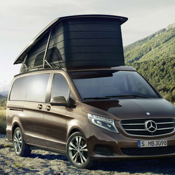 Mercedes benz marco polo camper van for Mercedes benz campervan usa