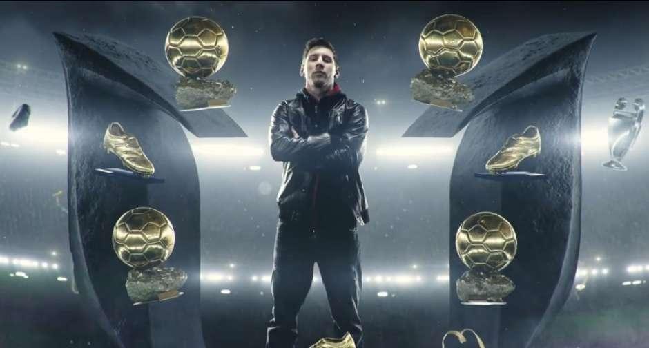 Nuevo comercial de adidas y Messi presumiendo todo lo que ganó el argentino