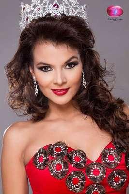 Foto: Facebook Alba Delgado Miss Universe El Salvador 2013