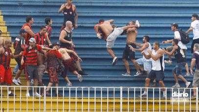 Violência no futebol matou 30 pessoas no Brasil em 2013