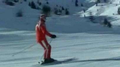 Vídeo amador registra resgate do ex-piloto Michael Schumacher