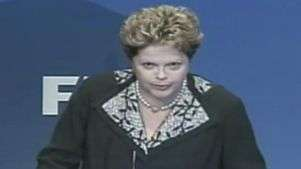 Dilma fala sobre atraso nas obras de estádio