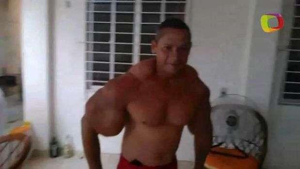 'Popeye Brasileiro', arrisca a vida com coquetel para músculos; conheça