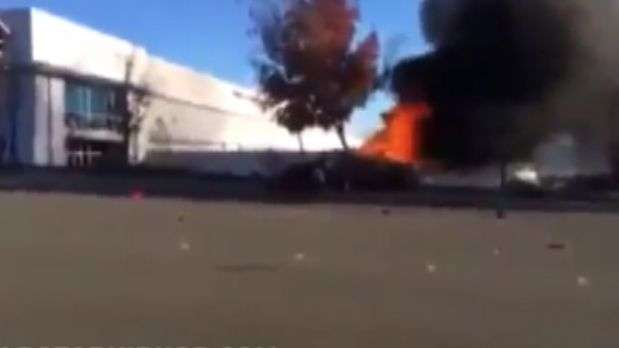 Video muestra intensidad del accidente automovilístico de Paul Walker