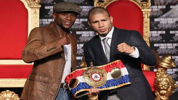 Mayweather vs Cotto, la pelea del momento!