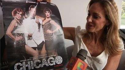 Denisse Dibos presenta 'Chicago'.