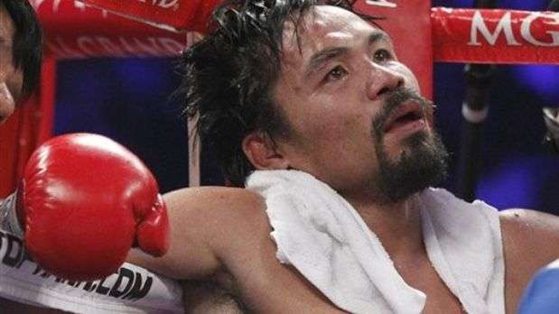Jueces aplican nocaut a Pacquiao con incre&iacute;ble decisi&oacute;n ante Bradley