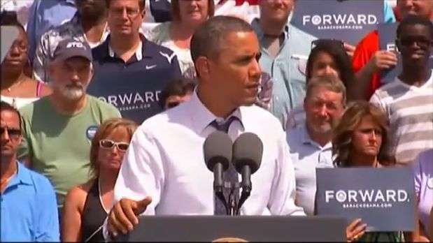 Barack Obama visits Ohio, a key state