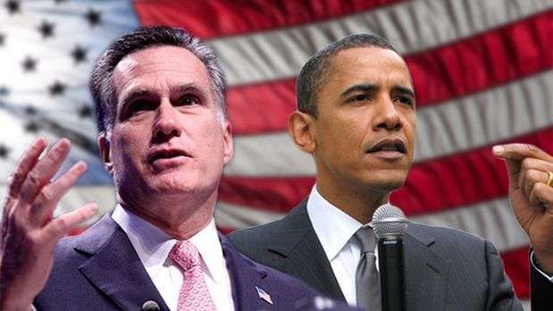 Obama y Romney, cara a cara