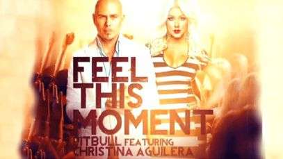 Escucha un avance de Pitbull ft. Christina Aguilera, 'Feel This Moment'