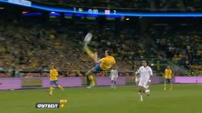 Ibra wonder strike