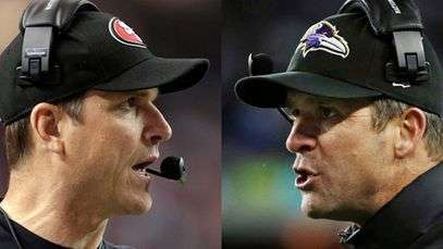 Ravens y 49ers, el Super Bowl de los hermanos Harbaugh