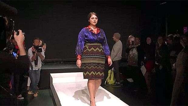 Las tallas grandes llegan a la Fashion Week de Nueva York
