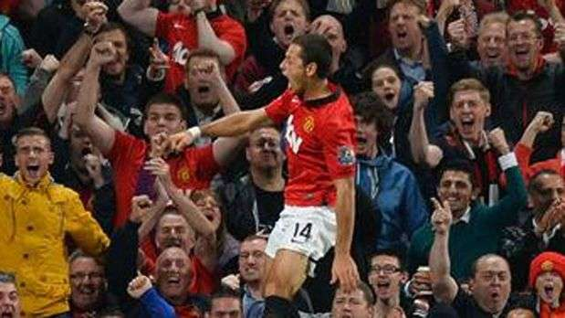 'Chicharito' Hernndez anota gol en triunfo de Manchester United
