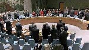 Silencio en la ONU por Mandela