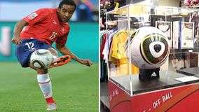 Bal&#243;n con que Beausejour marc&#243; hist&#243;rico gol en Mundial est&#225; en Chile
