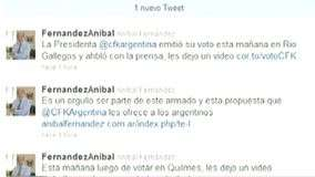 Twitter tambi&#233;n se hizo presente en las Elecciones Presidenciales 2011