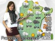 Pron&#243;stico para el 18 y 19 de mayo de 2013