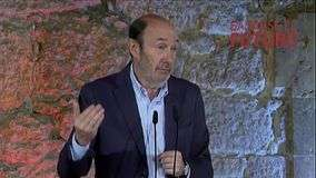 Rubalcaba pide &quot;amputar&quot; y &quot;meter miedo&quot; contra corrupci&#243;n