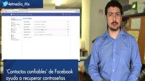 Facebook lanza &#39;Contactos confiables&#39;
