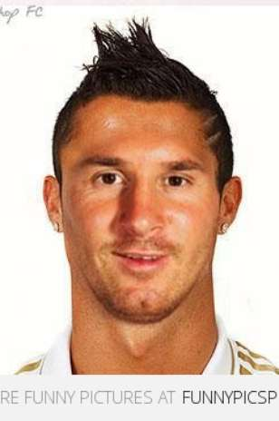 Bold legends of futbol Messi s hair history